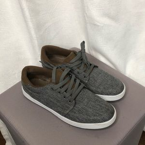 Other - Charcoal chambray sneakers